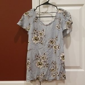 Maurices Tunic Top XS NWT